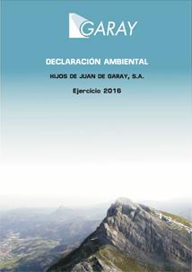 Declaración ambiental HJ Garay