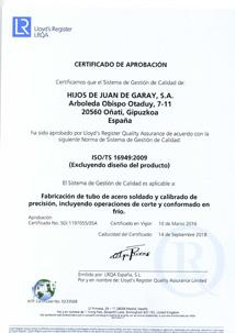 Garay-ISO-TS16949-2016-Esp